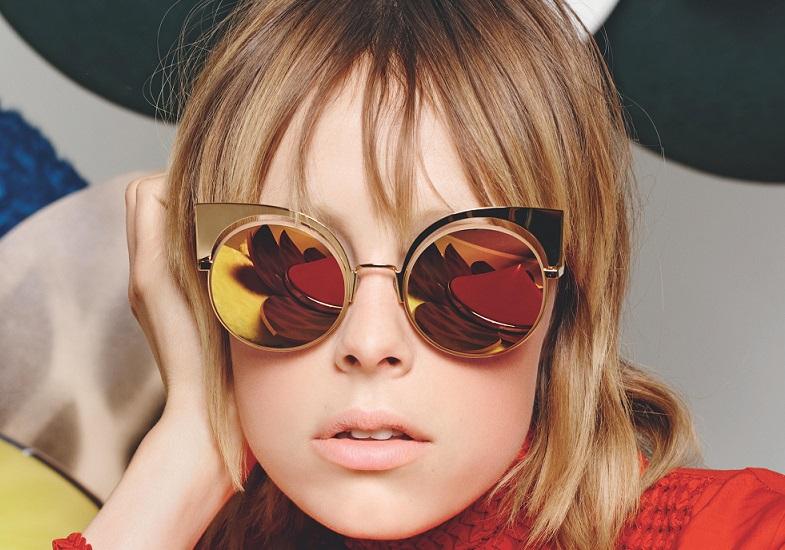 Okulary przeciwsłoneczne Fendi.