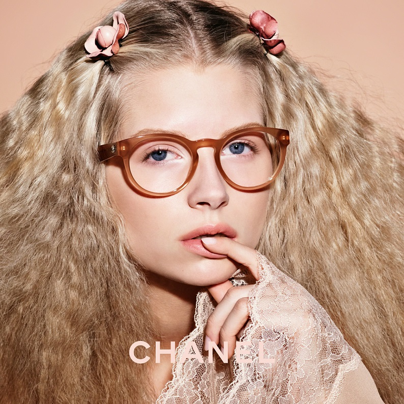 Okulary korekcyjne Chanel